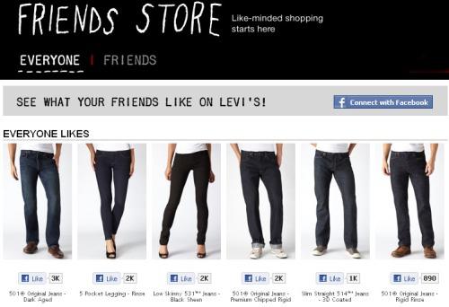 Levis-social-shopping