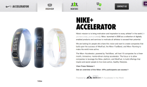 Nike + Accelerator